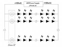 Suggested Circuit Diagram for Constant Voltage mode LED Lighting Power Supply System