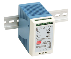 100W UPS Function DIN Rail Power Supplies