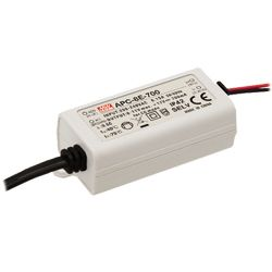 8W Constant Current IP42 LED Lighting Power Supplies