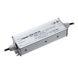 100W Single Output IP66 Rated PFC LED Lighting Power Supplies