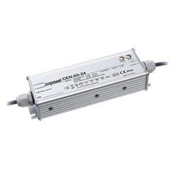 60W Single Output IP66 Rated PFC LED Lighting Power Supply