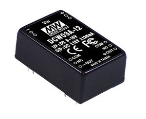 3W DC-DC regulated Dual Output Converter
