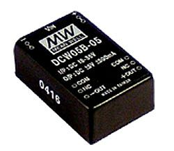 5W 36V ~ 72V Input Regulated Dual Output DC-DC Converters