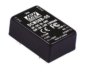 8W 15V DC-DC Regulated Dual Output Converter