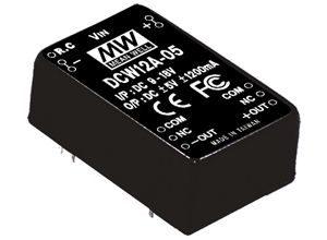 12W 15V DC-DC Regulated Dual Output Converter