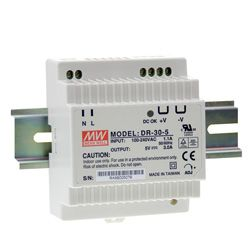 30W Single Output DIN Rail Power Supply