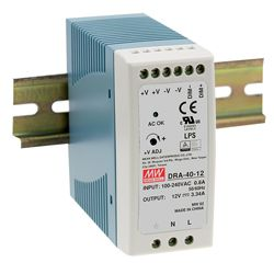 40W Single Output Switching DIN RAIL Power Supplies