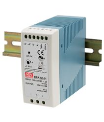 60W Single Output Switching DIN RAIL Power Supplies