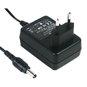 10~12W AC-DC Single Output Euro Plugtop Adapter