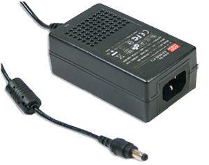 25W IEC320 C14 AC-DC Green Mode Desktop Adapter