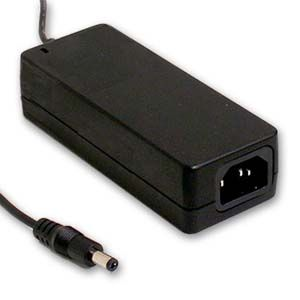 60W AC/DC Single Output Desktop Adapter