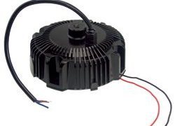 100W Single Output Circular Shape IP67 Dimmable LED Power Supplies for Bay Lighting