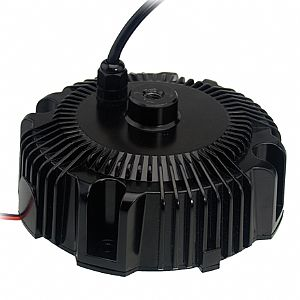 156W 60V 2.6A IP67 Dimmable Circular Bay Lighting LED Power Supply