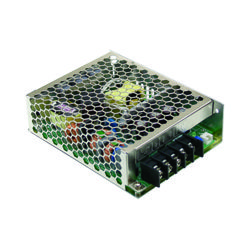 75W Single Output AC-DC Enclosed Power Supply with PFC