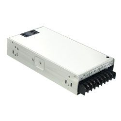 250W Single Output AC-DC Enclosed Power Supply with PFC Function