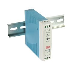 20W Miniture Single Output Din Rail PSU