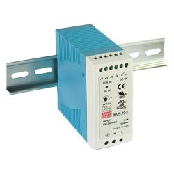 40W Miniture Single Output Industrial Din Rail PSU