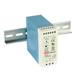 60W Miniture Single Output Din Rail PSU