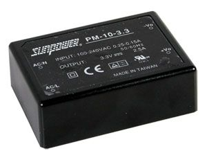 10W Single Output Encapsulated Medical PSU