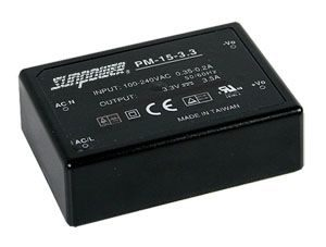 15W Single Output Encapsulated Medical PSU
