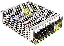 65W Dual Output AC-DC Enclosed Switching PSU