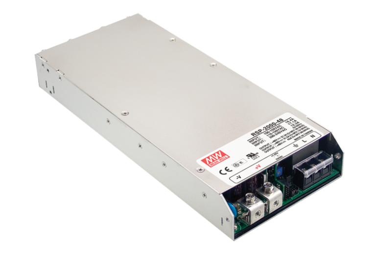 RSP-2000 Series 2000W 1U Parallel Function Enclosed Power Supplies