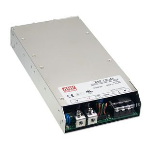 750W Single Output 1U low profile Enclosed Power Supply