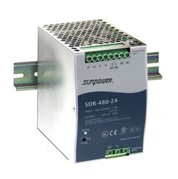 480W Single Output Industrial Din Rail Power Supply with PFC and Parallel Function