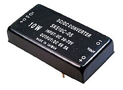 10W 36 ~ 72VDC Input Regulated Dual Output DC-DC Converters