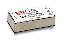 50W 36-75VDC Input Regulated DC-DC Converters