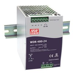 480W Single Output Industrial Din Rail Power Supplies