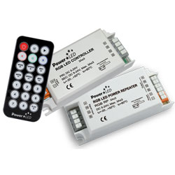 LED Controllers and Power Repeaters