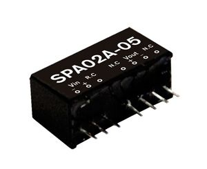 2W DC-DC Regulated Single Ouput Converter