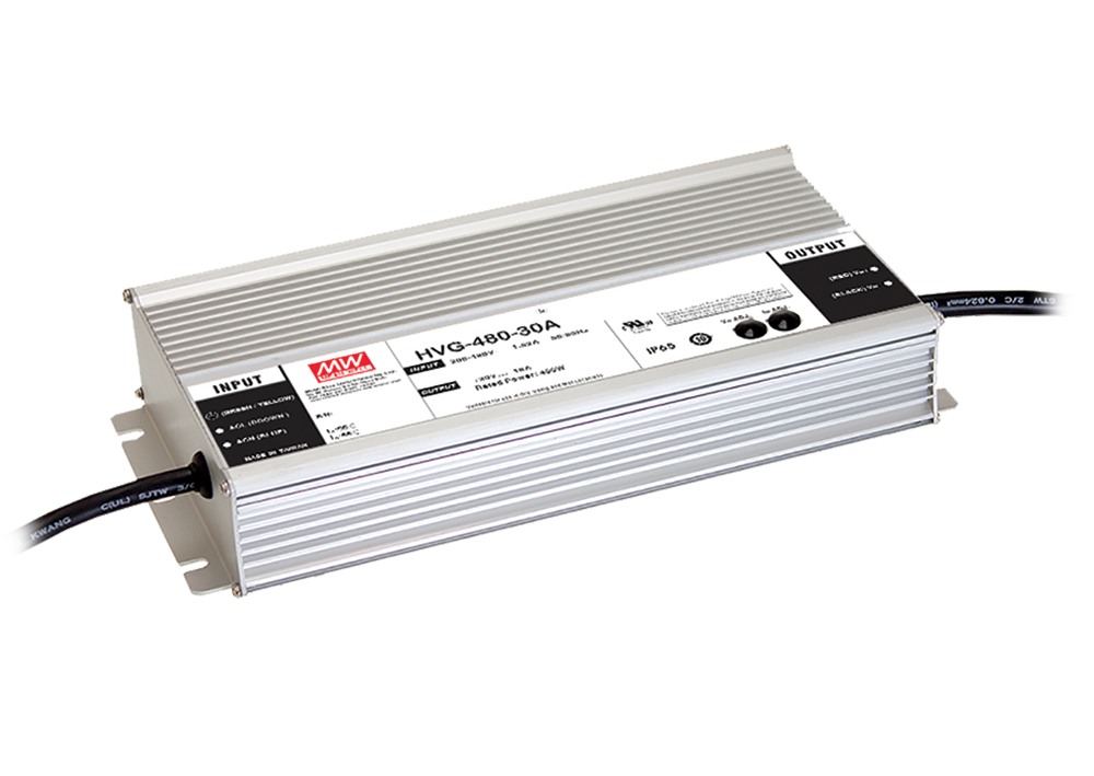 480.6W 54V 8.9A Constant Voltage and Constant Current LED Driver