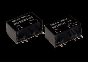 2W 15V 133mA SIP Package Medical Grade Unregulated Converter