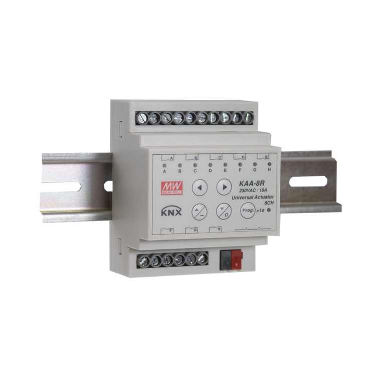 KNX 10A 8 Channel Universal Actuator