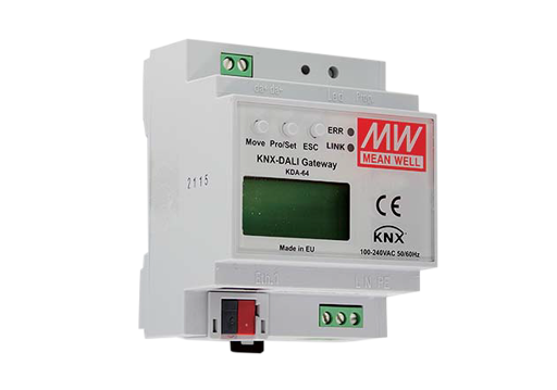 KDA-64 Series KNX to DALI gateway