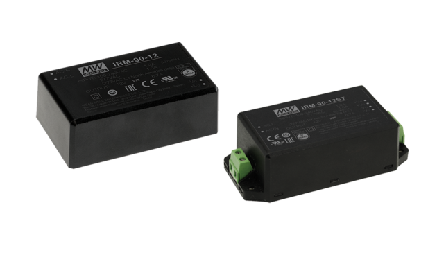 IRM-90 Series 15V 90W AC-DC PCB-Mount Green Power Module