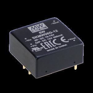 6W 5V 1200mA Single Output Regulated Encapsulated DC-DC Converter