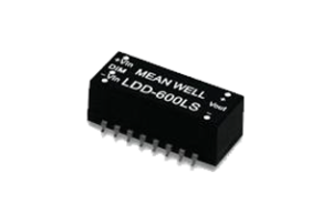 700mA 2-28Vdc DC-DC Constant Current LED Driver - SMD Style