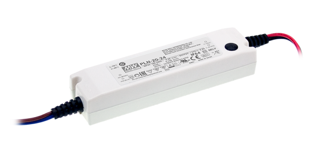 20.2W 48V 0.4A IP64 Rated PFC LED Lighting Power Supply