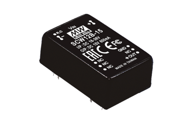 12W 15V DC-DC Regulated Single Output Converter