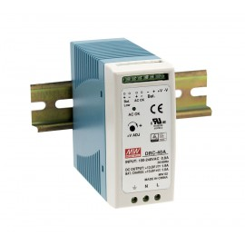 40.02W 27.6V 0.95A DIN Rail Power Supply with Battery Output