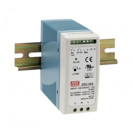 59.34W 27.6V 1.4A DIN Rail Power Supply with Battery Output
