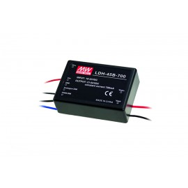 44.8W 700mA 75V 18-32VDC Input DC-DC Constant Current LED Power Supply - Wire Style