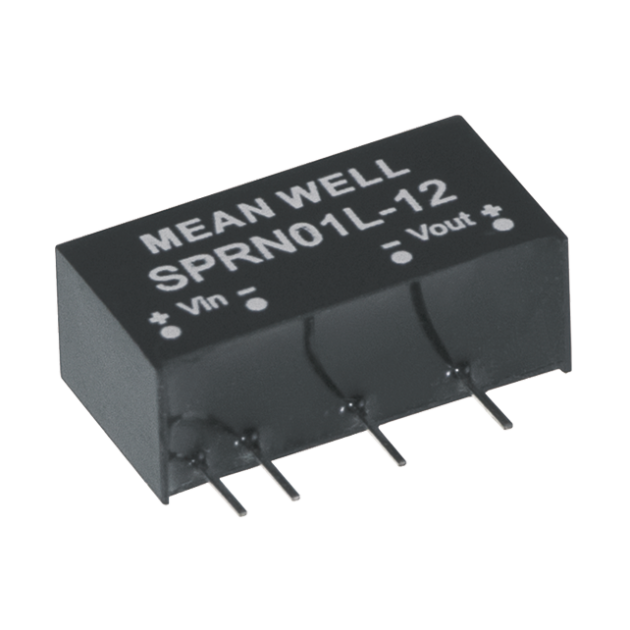 1W Single Output SIP Package Regulated DC-DC Converter