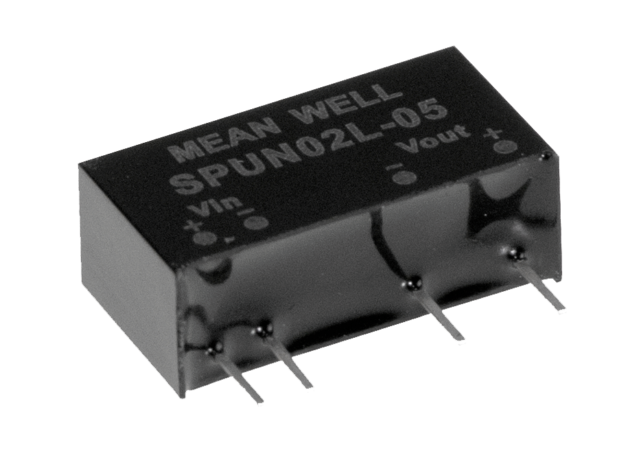 2W 15V 0 ~ 134mA 21.6 ~ 26.4VDC Input Unregulated DC-DC Converter