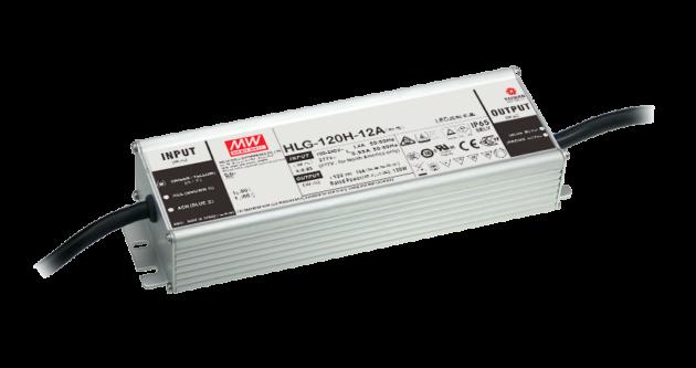 HLG-120H-54-D 120W  54V Constant Voltage + Constant Current LED Driver - Timmer Dimming