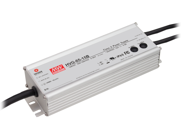 65.3W 54V 1.21A IP67 Dimmable LED Lighting Power Supply