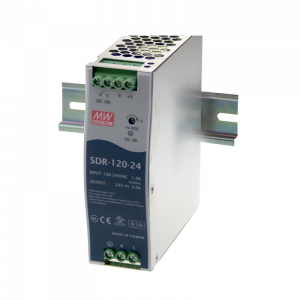 120W 48V 2.5A Din Rail Power Supply with PFC Function